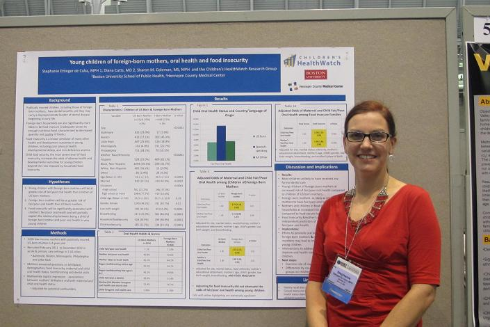 APHA 2013 SE with poster